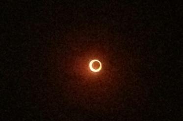 「金環日食」で気温が下がる