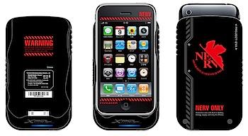 エヴァとiPhoneがコラボ!「専用筐体保護型蓄電器 AP1500 NERV/AP1500 REI」