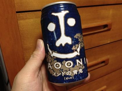 缶で飲めるIPA「インドの青鬼」