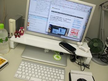 MacBook Airと液晶モニタの素敵な関係