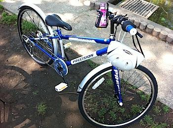 小学3年生の息子の誕生日に自転車「プレシジョンジュニア」プレゼント