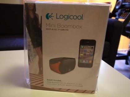 通話もできるBluetooth対応スピーカー「Logicool Mini Boombox」
