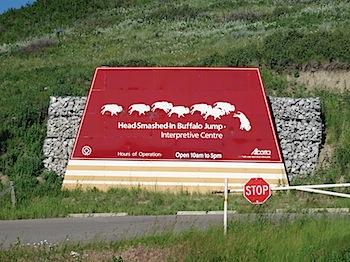 【ネタフル・カナダ支局】世界遺産バッファロージャンプ(Buffalo Jump)でブラックフット族の話を聞く