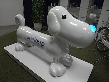 「eneloopy(エネルーピー)」エネループのゆるふわ愛されマスコット!