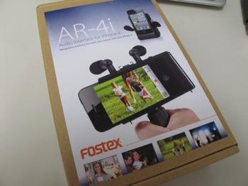 「AR-4i」iPhone 4専用オーディオインターフェース → ステレオでの動画撮影・ストリーミング可能