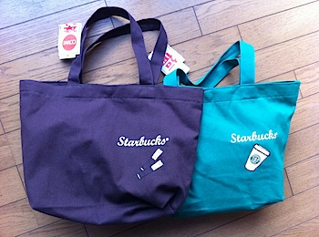 スターバックスの福袋2011(浦和パルコ)