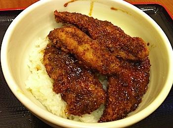 ショッピングシティベル越前海鮮丼家「きんや」で福井名物のソースカツ丼を食べた