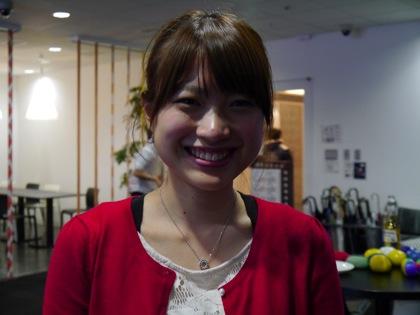 """準ミス慶応""""まなみん""""こと井上愛美「Google+は続けます!」"""