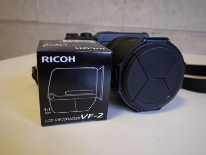 「VF-2」リコーGXR用外付け液晶ビューファインダーを購入