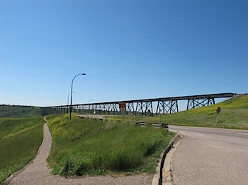 【ネタフル・カナダ支局】高さ96m・長さ1,624mのHigh Level Bridge(LethBridge)