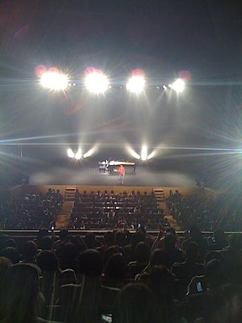 広瀬香美コンサート「香美別邸」でツイッター&Ustream