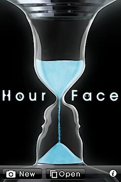 未来の顔をひと足お先に体験するiPhoneアプリ「HourFace」