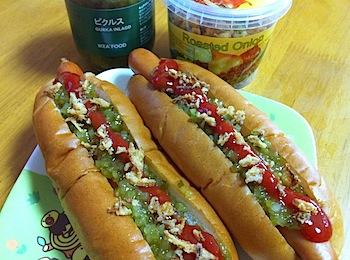 イケアのホットドッグは自宅で食べてもやっぱり旨味