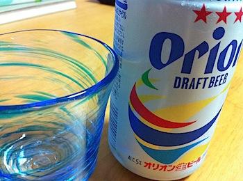 「オリオンビール」で沖縄気分なう><
