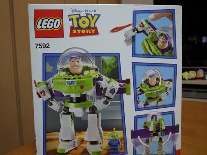 LEGO「バズ・ライトイヤー」作ってみた!