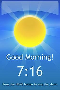 「Sleep Cycle alarm clock」浅い眠りの時に起こしてくれるiPhoneアプリ