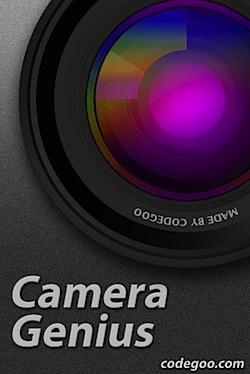 「Camera Genius」ズーム/手ぶれ補正/タイマーなど高機能iPhoneカメラアプリ