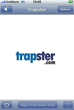 「Trapster」オービスや警察の取り締まりポイントを共有するiPhoneアプリ
