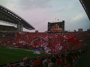 Jリーグ第27節 浦和レッズ v.s. 横浜Fマリノス[2009]