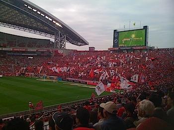 Jリーグ第28節 浦和レッズ v.s. ジェフ千葉[2009]
