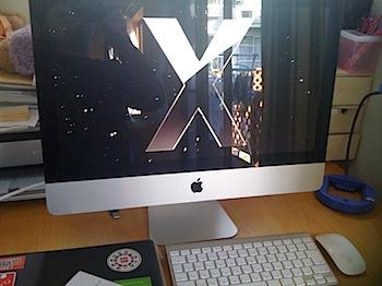 「iMac(21.5インチ)」購入