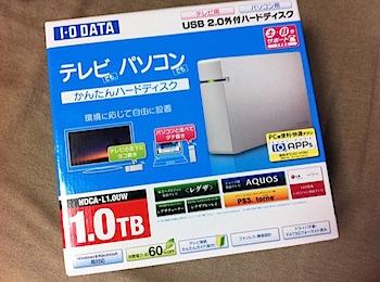 「Pogoplug」I-O DATAの1TBのUSBハードディスクをセットアップしてポゴる