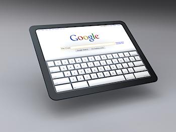 Google「Chrome OS」搭載タブレットPCのコンセプト画像を公開