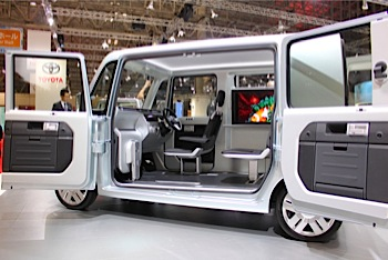 ダイハツ「DecaDeca(デカデカ)」軽自動車なのにまるで部屋(東京MS)
