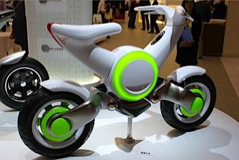 「ヤマハ」エコバイクを中心に(東京MS)