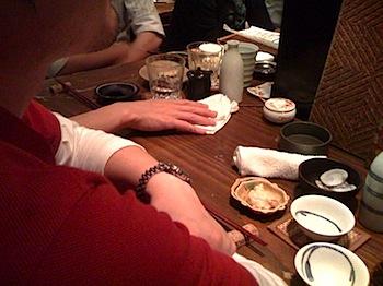 Twitterでつぶやいて「和浦酒場」で合流