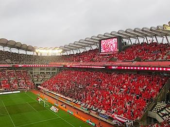 Jリーグ第1節 浦和レッズ v.s. 鹿島アントラーズ[2010]