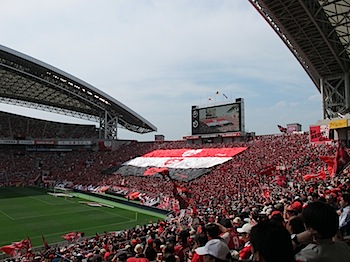 Jリーグ第11節 浦和レッズ v.s. 横浜Fマリノス[2010]