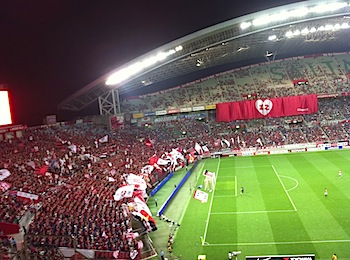 Jリーグ第19節 浦和レッズ v.s. ベガルタ仙台[2010](水道橋博士、参戦)