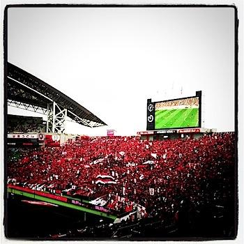 Jリーグ第9節 浦和レッズ v.s. 横浜Fマリノス[2011]
