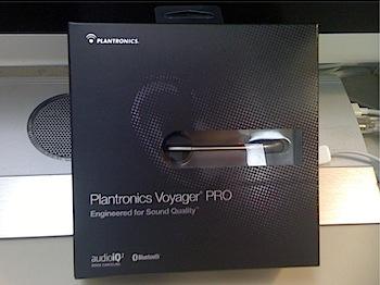 Bluetoothヘッドセット「Voyager PRO」レポート(プレゼントあり!)