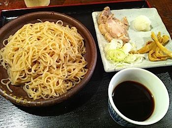 和浦酒場弐「小麦もりそば」キリッと冷たくてモチモチして旨味!(浦和)
