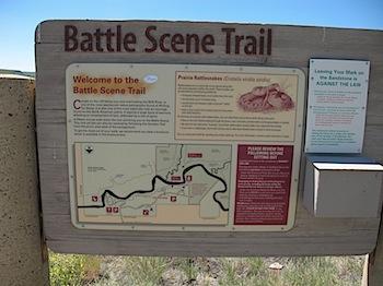 【ネタフル・カナダ支局】Writing-on-Stone Provincial ParkでBattle Scene Trailの壁画を見た