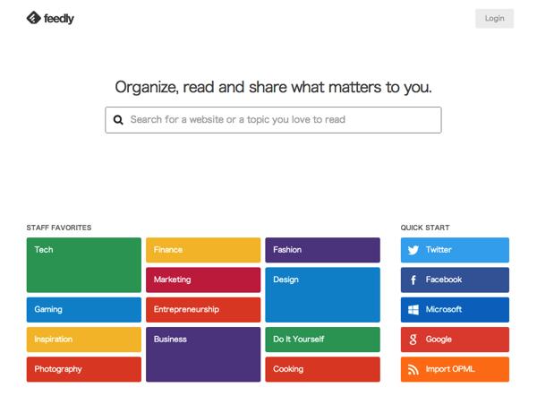 今さら始めるRSSリーダ「feedly」アカウント登録してよく読むブログを登録してみる