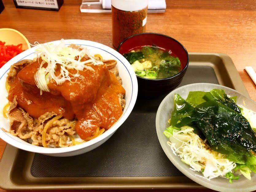 鬼ぎつね牛丼 05