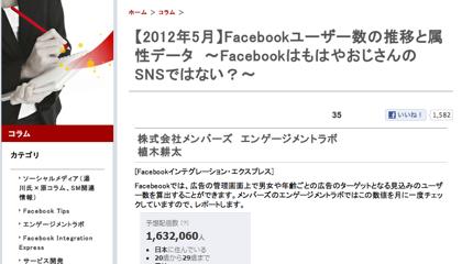 「Facebook」もはやおじさんのSNSではない?