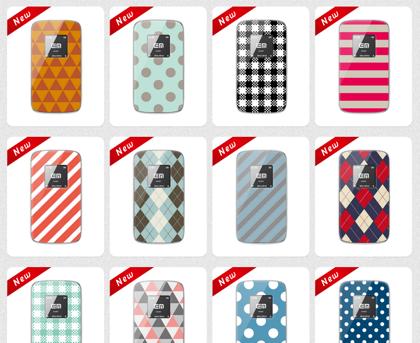 Pocket WiFi(GL01P)にオリジナルデザインのカバーが貰える「Design Pocket WiFi Campaign Store」