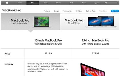 「MacBook Pro」17インチモデル消滅の理由とは?