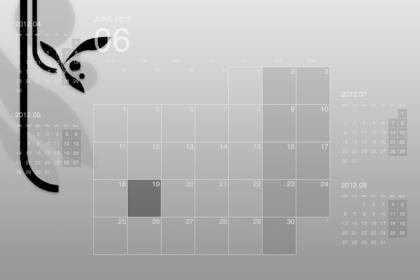 Macのデスクトップにカレンダーを表示する「Desktop Calendar Plus」