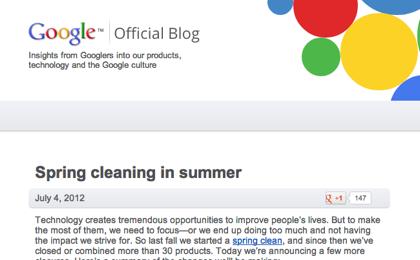 Google、iGoogleやGoogle Videoなどのサービス終了を予告