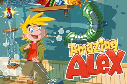 ピタゴラスイッチ!?Angry BirdsのRovioから新作ゲーム「Amazing Alex」
