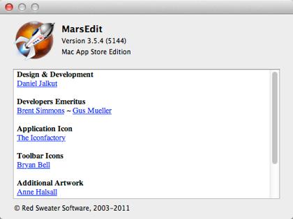 【Mountain Lion】ブロガー必携ソフト「Mars Edit」と「Skitch」の動作を確認