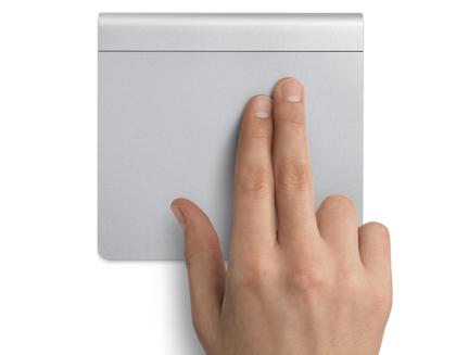 【OS X Mountain Lion】トラックパッドから「通知センター」を呼び出す方法