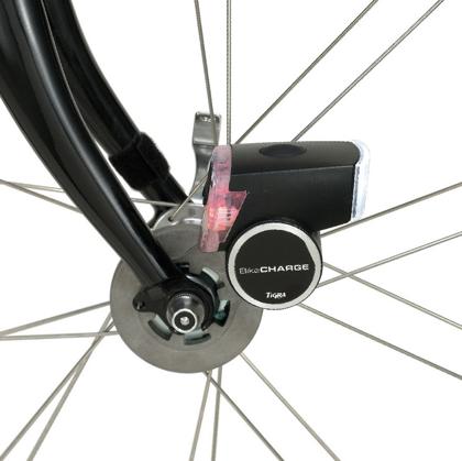 自転車用USB発電機「BikeCharge Dynamo」