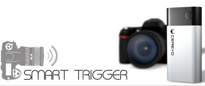 スマホでデジタル一眼レフのシャッターをコントロール「SmartTrigger」