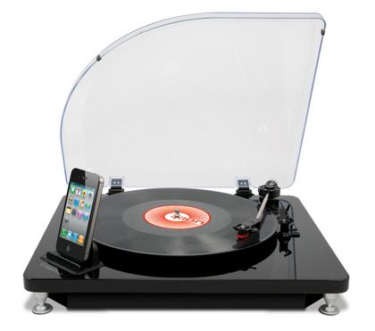レコードをiPhone/iPadに直接取りこめる「iLP」